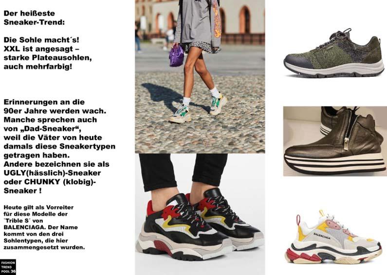 Dad Sneaker – der Sneakertrend mit den STARKEN Sohlen!