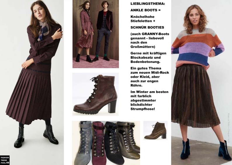 ANKLE BOOTS / GRANNY BOOTS